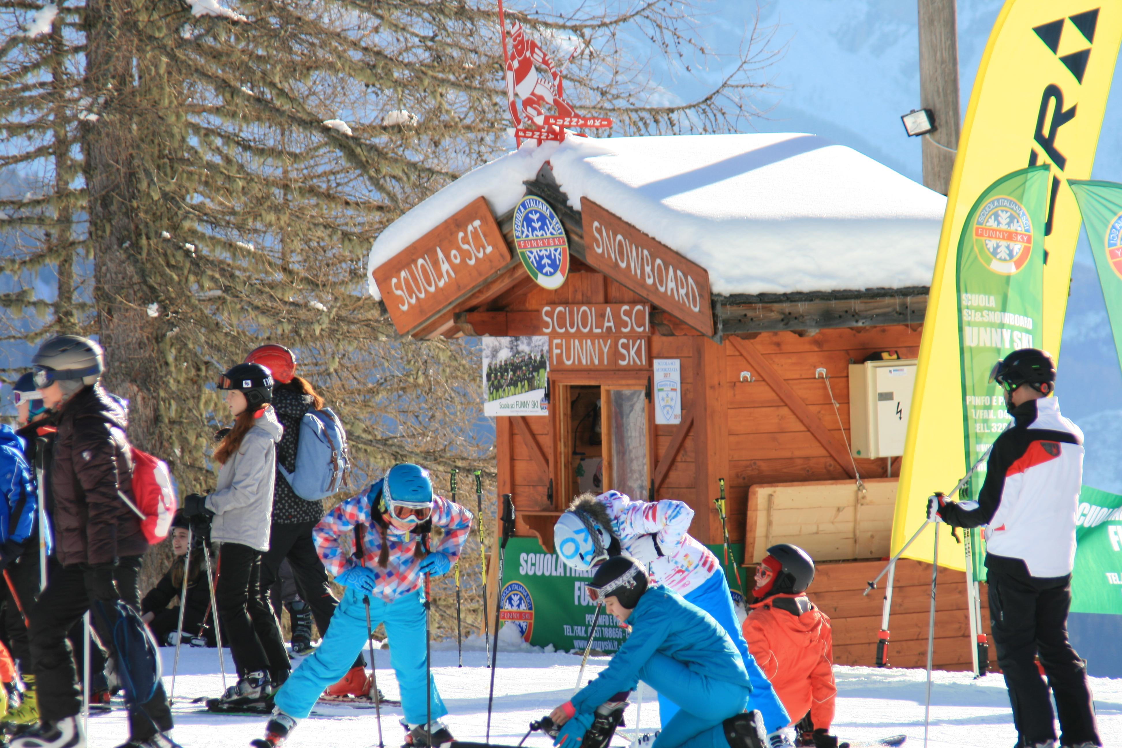 scuola sci funny ski